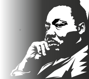 karley buckland, Martin Luther King portrait