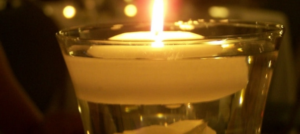 wedding feast candle