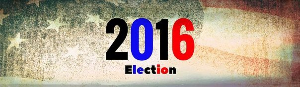 2016 trump clinton election banner